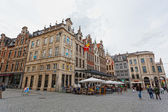 MECHELEN, BELGIUM - JUNE 07,2012. View of one of squares of the city with , June 07,2012, Mechelen, Belgium. Population of Mechelen about 80 thousand , in Belgium it is included into numbe — Stock Photo