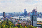 ROTTERDAM, NETHERLANDS - SEPTEMBER 28. City views Rotterdam, Nideranda, September 28, 2012. The population of the city of 617 347 inhabitants (for January 1, 2012), it is the second for number of inha — Stok fotoğraf