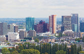 ROTTERDAM, NETHERLANDS - SEPTEMBER 28. City views Rotterdam, Nideranda, September 28, 2012. The population of the city of 617 347 inhabitants (for January 1, 2012), it is the second for number of inha — Stock Photo