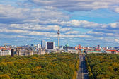 Day view of the central district of Berlin from an observation deck — Foto de Stock