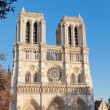 PARIS, FRANCE -SEPT.30: Notre-Dame, Paris, France, on September 30, 2012. — Stock Photo
