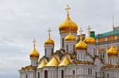 Arkhangelsk cathedral in Kremlin, Moscow, Russia — Fotografia Stock
