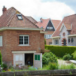 Stock Photo: Beautiful rural, brick house in Dutch style
