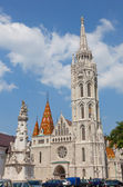 Matthias Church at Buda Castle in Budapest, Hungary — Stock Photo