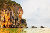 Rayleigh's beach in the province Krabi. Thailand — Stock Photo