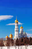 Moscow Kremlin, Ivan Velikogo's belltower in the spring — Stock Photo