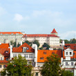 Czech republic, Prague, look on Gradchana and the Vltava River - Stock Photo