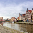 Views of the historical downtown Ghent, Belgium. — Stock Photo #23981337