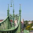 Budapest, Hungary, view of Freedom bridge — Foto de Stock