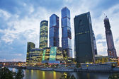 The Moscow International Business Center, Moscow-City . — Stock Photo
