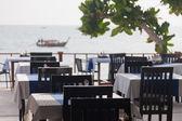 Restaurant verandah — Stock Photo