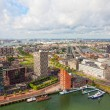 ROTTERDAM, NETHERLANDS - SEPTEMBER 28. City views Rotterdam, Nideranda, September 28, 2012. - Stock Photo