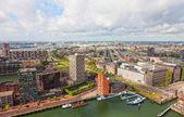 Rotterdam, países baixos - 28 de setembro. cidade vista para roterdão, nideranda, 28 de setembro de 2012. — Foto Stock