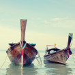 Longtail, the traditional Thai boat — Stock Photo