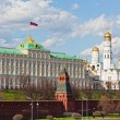 Stock Photo: View from embankment on Big Kremlin palace in Moscow