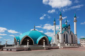 Qol Sharif mosque in Kazan, Russia on the blue sky — Stock Photo