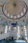 RUSSIA, KAZAN-MAY 21: Interior Qol Sharif mosque in Kazan, Russia, May 21, 2013. Qol Sharif - the main mosque of the Republic of Tatarstan and Kazan is located on the territory of the Kazan Kremlin. — Stock Photo