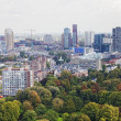 Stockfoto: Arial panoramof Rotterdam, Holland