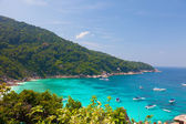 Beautiful view from the rock Sail on Similan, Thailand — Stock Photo