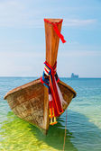 Traditional longtail boat , Krabi,Thailand — Photo