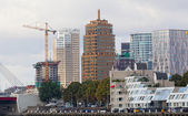 ROTTERDAM, NETHERLANDS - SEP 28. City views Rotterdam, Nideranda, September 28, 2012. The population of the city of 617 347 inhabitants , it is second for number of inhabitants city in Netherlands — Stock Photo