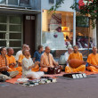 Members of Hare Krishna — Stock Photo