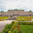 Stock Photo: Belvedere palace complex in Viennin Baroque style