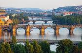 View of the Vltava River — Stock Photo
