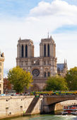 Seine Embankment in Paris — Stock Photo