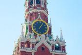 Spassky kule saati chiming — Stok fotoğraf