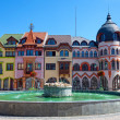 Europe square in Komarno . Slovakia — Stockfoto