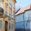 Deserted street of Bratislava — Stock Photo #31128451