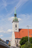 St. Martin's Catholic temple in Bratislava, Slovakia — Stockfoto