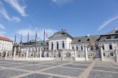Presidential palace in Bratislava, Slovakia in the sunny summer day — Stock Photo