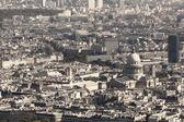 View of Paris from height of bird's flight — ストック写真