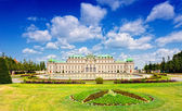 Belvedere (ital. Belvedere) - a palace complex in Vienna in Baroque style — Stock Photo