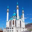Qol Sharif mosque in Kazan, Russia against the beautiful sky — Stock Photo