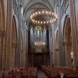 Interior of Cathedral Saint Pierre in Geneva — ストック写真