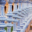 Ceramic bridge in Plaza de Espana — Stock Photo