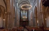 Interior of Cathedral Saint Pierre in Geneva — Stock Photo