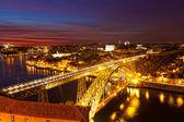橋 ponte ドム ルイス — ストック写真