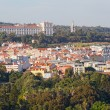 View from height to Madrid, Spain — Stockfoto