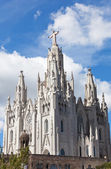 Temple del Sagrat Cor (Church of the Sacred Heart). Barcelona. Spain — Stock Photo