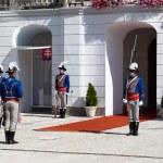 Presidential palace in Bratislava — Stock Photo