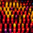 Church candles — Stock fotografie