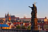 Sculpture in Prague — Stock Photo