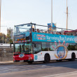 Tourist bus in Barcelona — Foto Stock