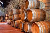 Olden casks — Stock Photo