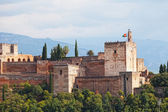 Ancient arabic fortress of Alhambra — Stock Photo