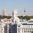 Stock Photo: Palacio de Comunicaciones